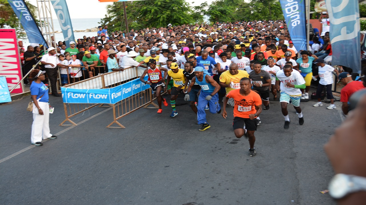 File photo of the start of the MoBay City Run