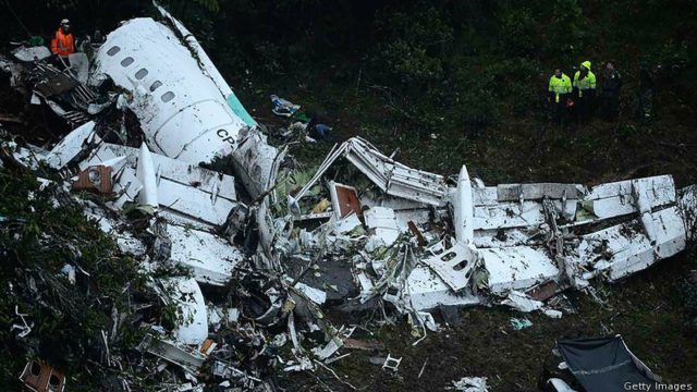 Lack of fuel caused 2016 Brazil football team Chapecoense plane crash