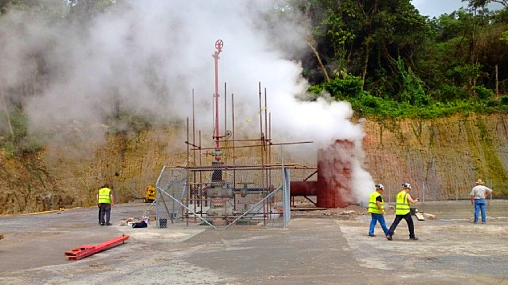 (Photo: Geothermal energy in Roseau Valley, Dominica.)
