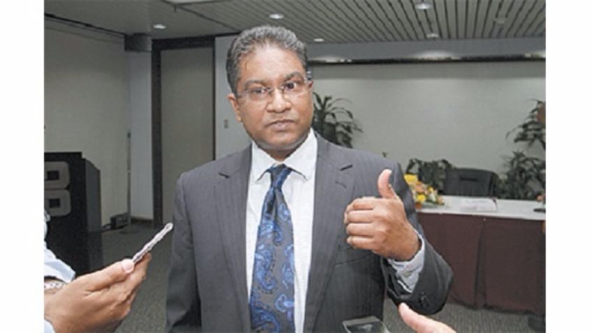 Former Central Bank Governor Jwala Rambarran.
