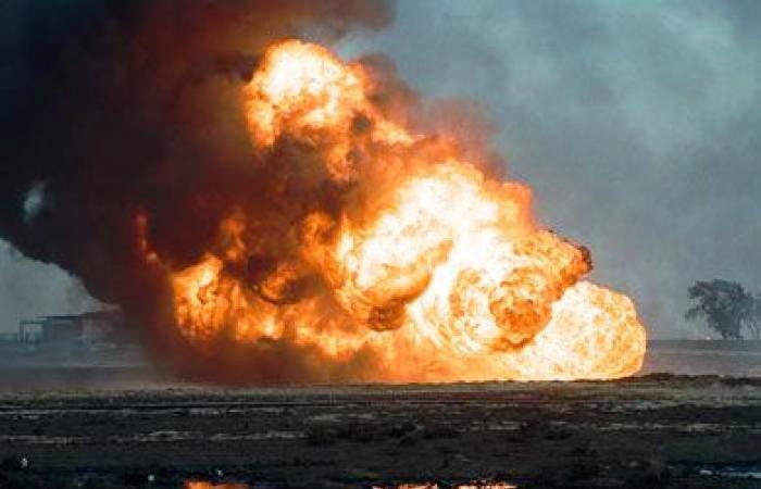 L'incendie a été provoqué par un déversement de pétrole en pleine nuit, vers 01H30 (18H30 GMT mardi), dans un quartier résidentiel de la province d'Aceh, à la pointe nord de l'île de Sumatra.  (crédit photo : source AFP)