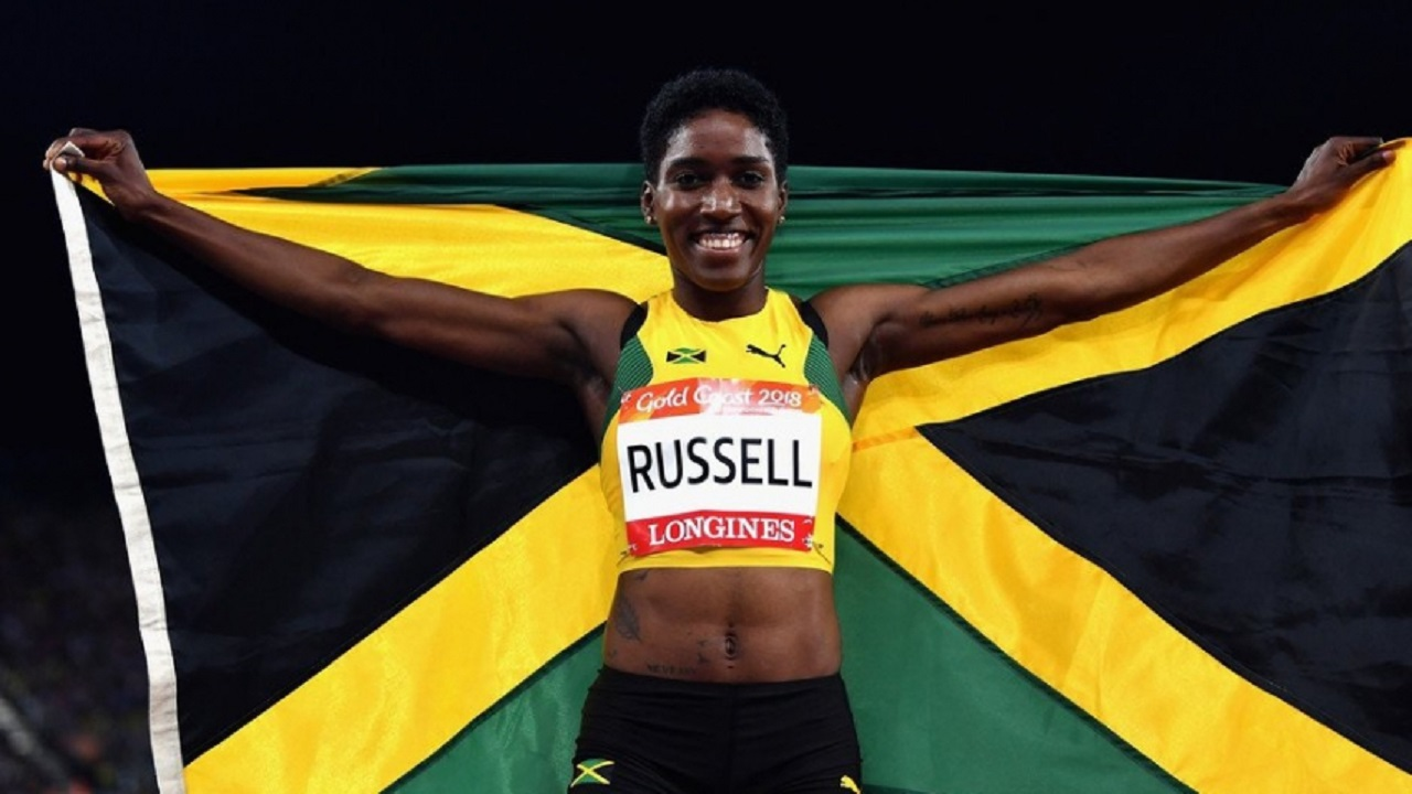 Janieve Russell of Jamaica.
