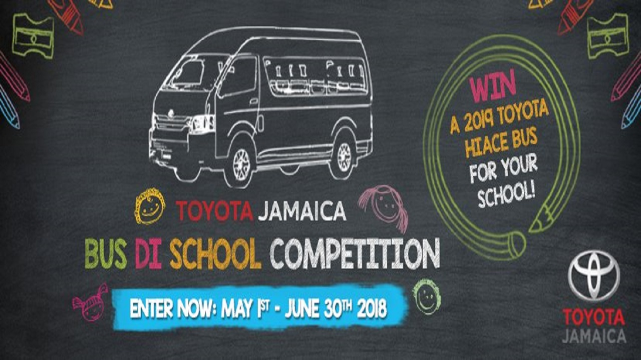 The motor vehicle company invites schools to submit entries for their chance to win a 2019 Toyota Hiace Bus valued at over $6.7million along with one year free scheduled maintenance up to 30,000km and free license/registration.