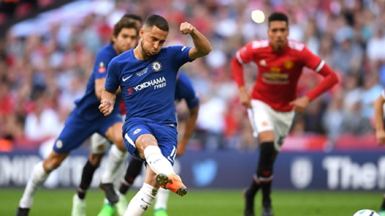 Chelsea forward Eden Hazard.