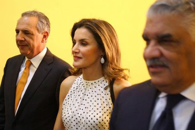 La Reine d'Espagne, Letizia Ortiz Rocasolano / Photo: Listin Diario