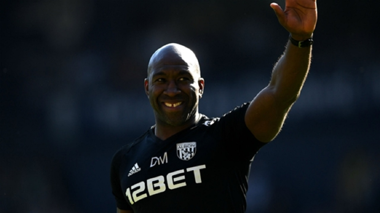 West Brom interim manager Darren Moore.