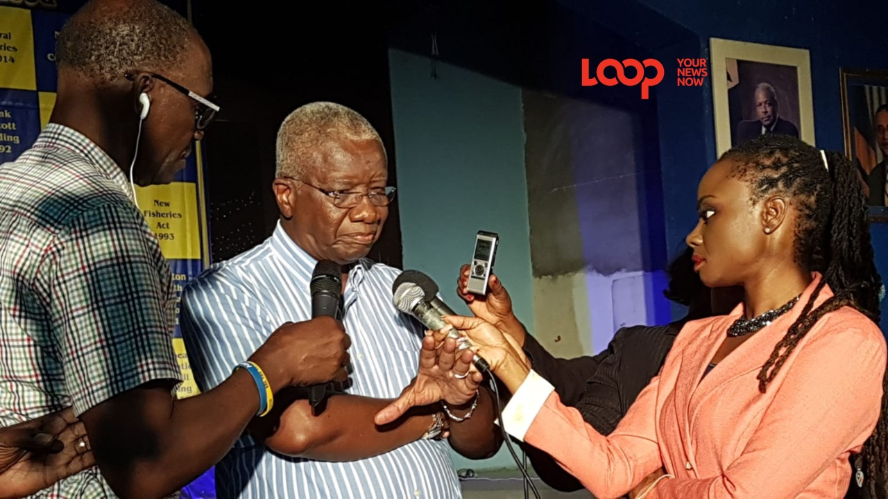 Freundel Stuart's voice cracked as he gave his first speech as Barbados' outgoing Prime Minister.