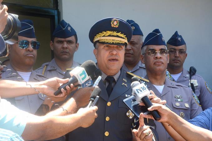 Le directeur de la police nationale, le général de division Ney Aldrin Bautista Almonte.