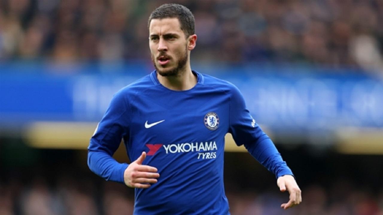 Chelsea winger Eden Hazard.