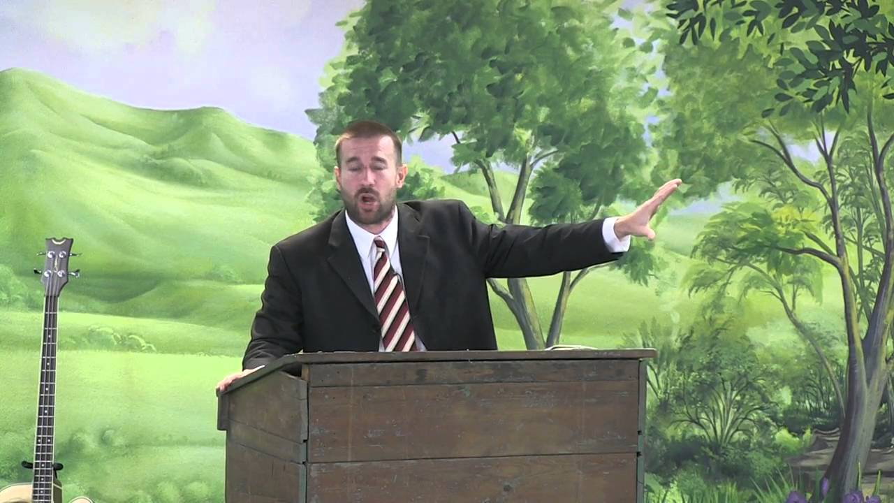 Anti-gay US preacher, Steven Anderson, who was banned from bringing his ministry to Jamaica earlier this year.