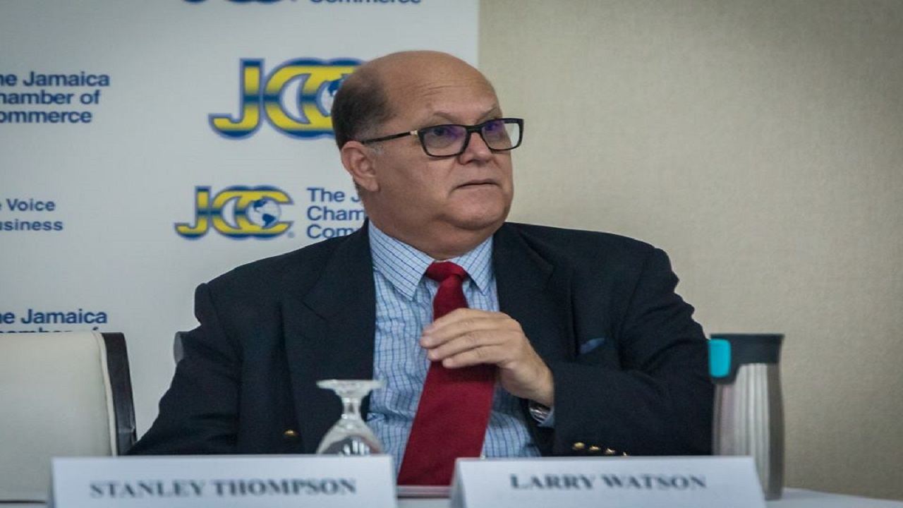 Jamaica Chamber of Commerce President Larry Watson. Photo via Jamaica Chamber of Commerce's Facebook page.