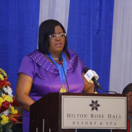 Jamaica Teachers' Association President, Georgia Waugh-Richards