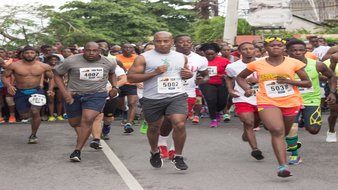 The start of last year's MoBay City Run