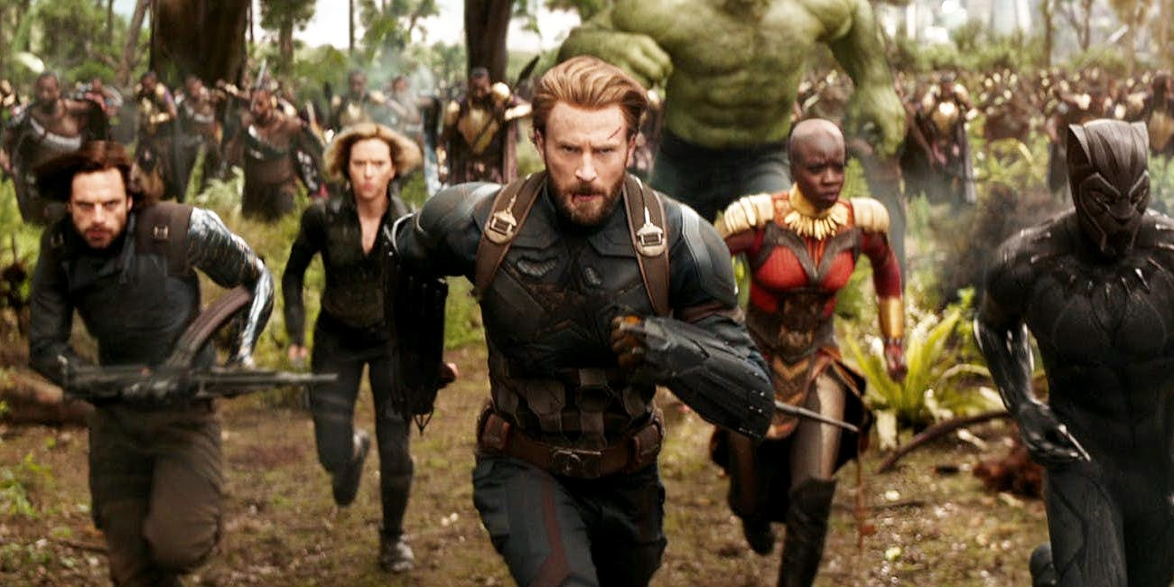The Avengers: Infinity War, premiered in local Palace Amusement theatres on Wednesday, May 2.
