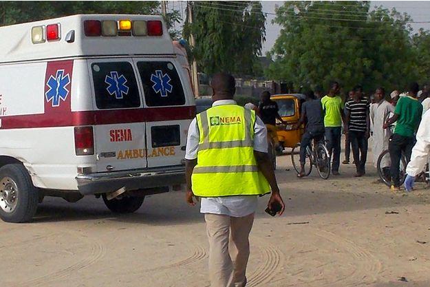 Les maladies transmises par l'eau constituent une menace constante en raison du manque d'installations sanitaires adéquates ainsi que de la stagnation des eaux souterraines pendant la saison des pluies au Nigeria. (crédit photo : AFP)