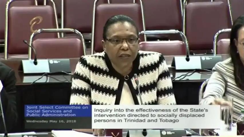 Jacinta Bailey-Sobers, Permanent Secretary of the Ministry of Social Development and Family Services