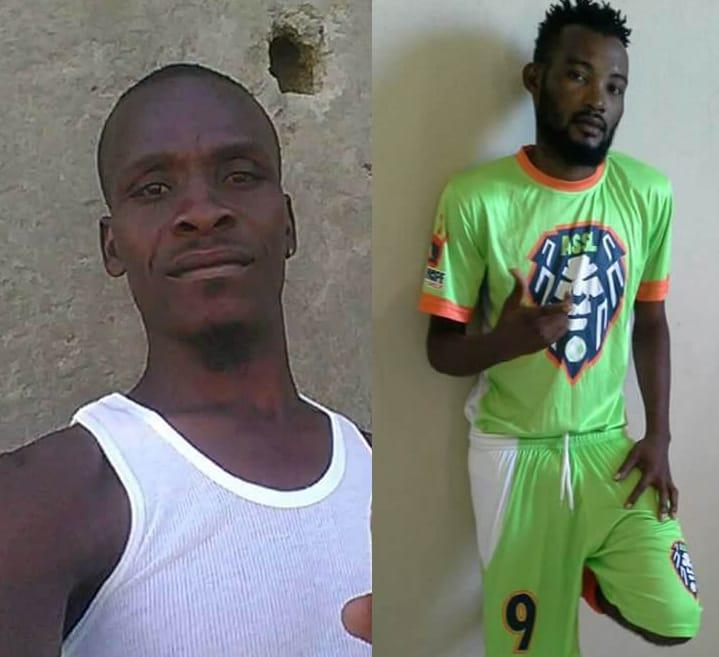 A droite, le dénommé Mario; A gauche: James Telfort