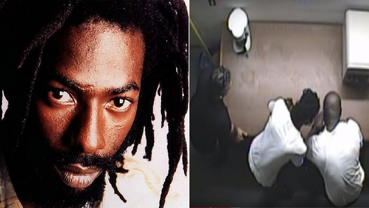Buju Banton (pictured left) was caught in a cocaine sting. The previously sealed undercover video was released by ABC News on Sunday.