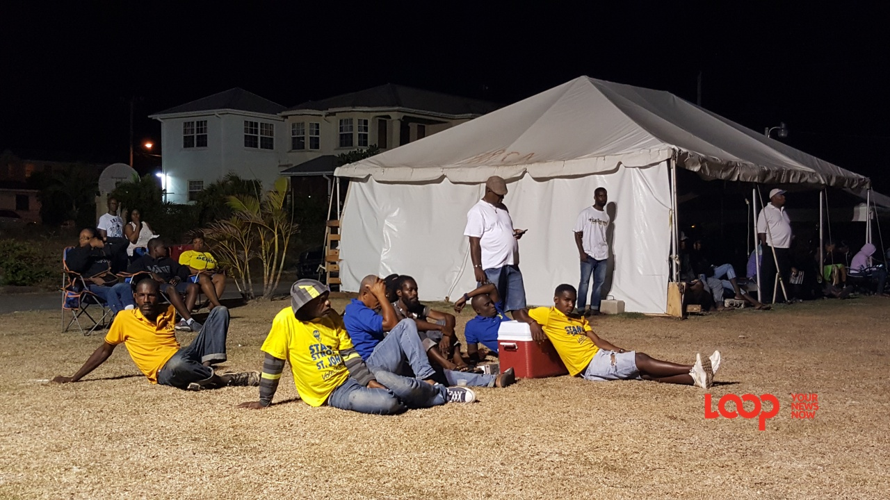 DLP supporters at one of tonight's meetings.