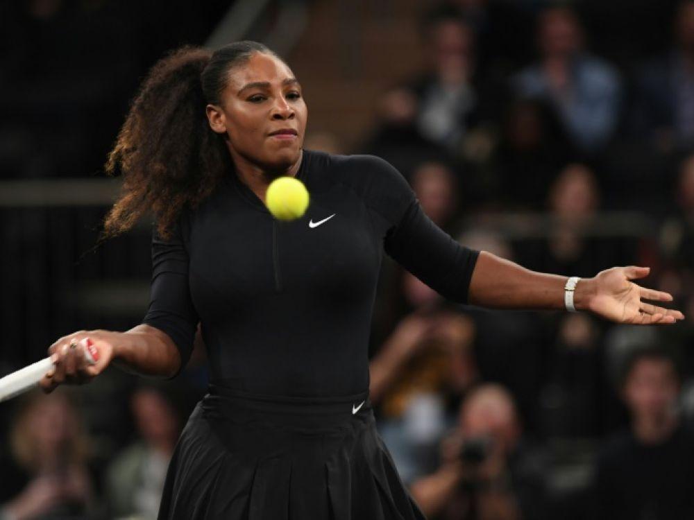 Serena Williams affrontera la Tchèque Krystina Pliskova, 70e mondiale, au premier tour, un duel à sa portée sur le papier, tandis que Sharapova, 29e mondiale aujourd'hui, a hérité d'une qualifiée d'entrée. (crédit photo : AFP)