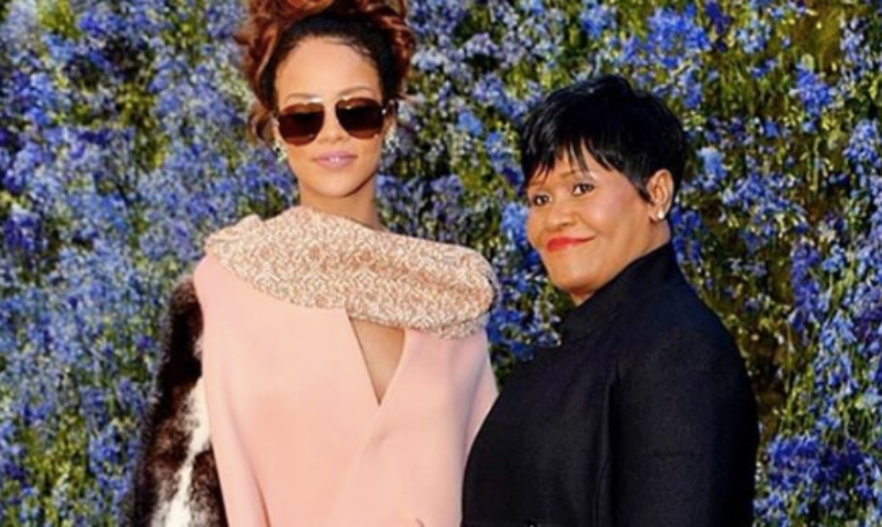 Rihanna and Monica Brathwaite (@BadgalRiRi Instagram)