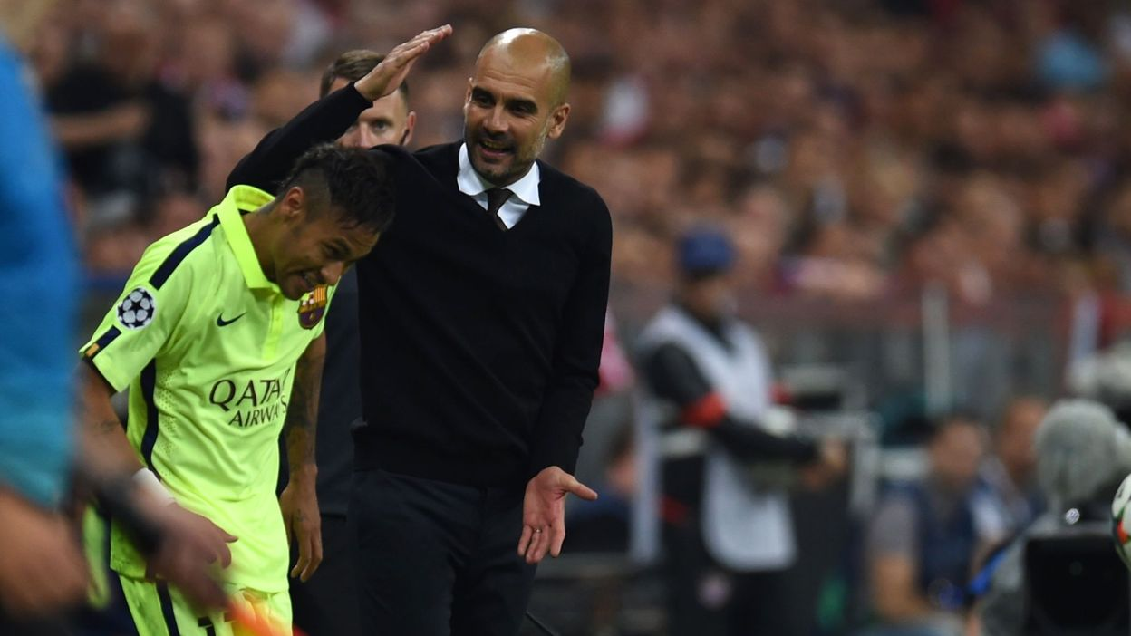 """""""J'ai toujours voulu travailler avec Guardiola. Il est différent. Je suis arrivé (à Barcelone) un an après son départ. J'ai très envie de travailler avec lui"""", a affirmé le joueur de 26 ans, interviewé par Alex, ex-milieu de terrain qui a brillé notamment au Fenerbahçe. (crédit photo : AFP)"""