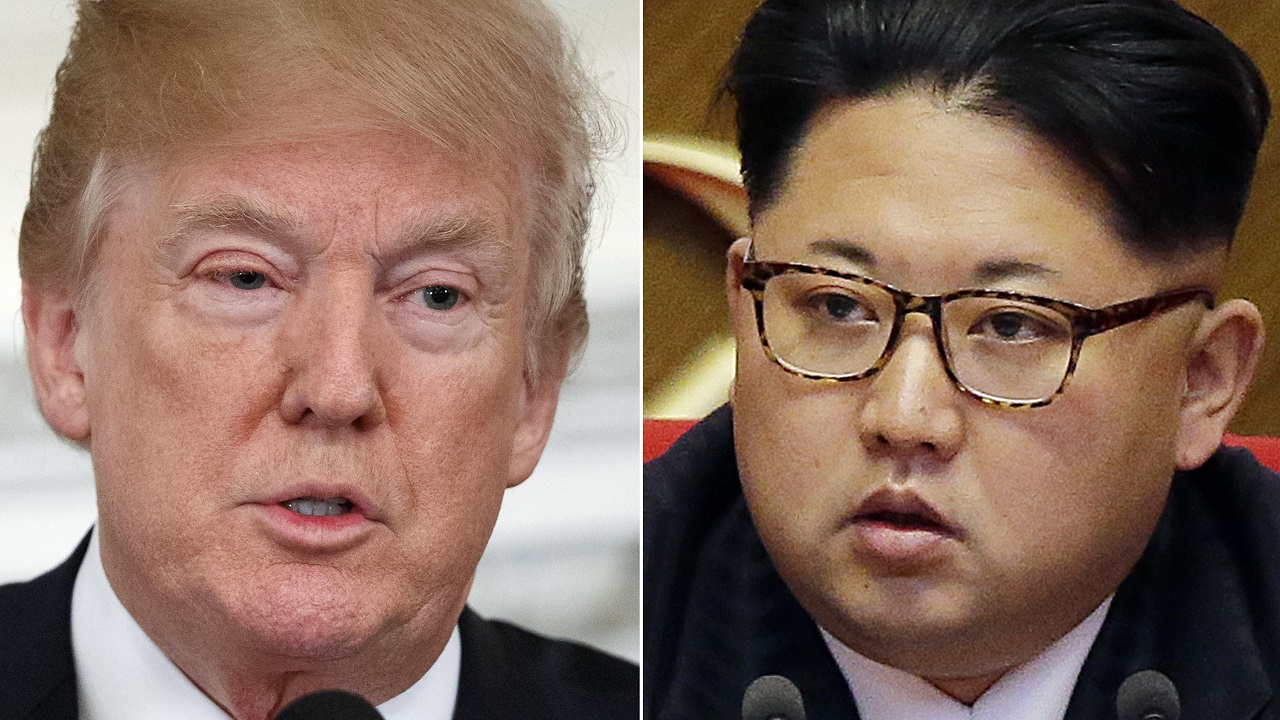 (Image: AP: Donald Trump and North Korean leader Kim Jong Un)