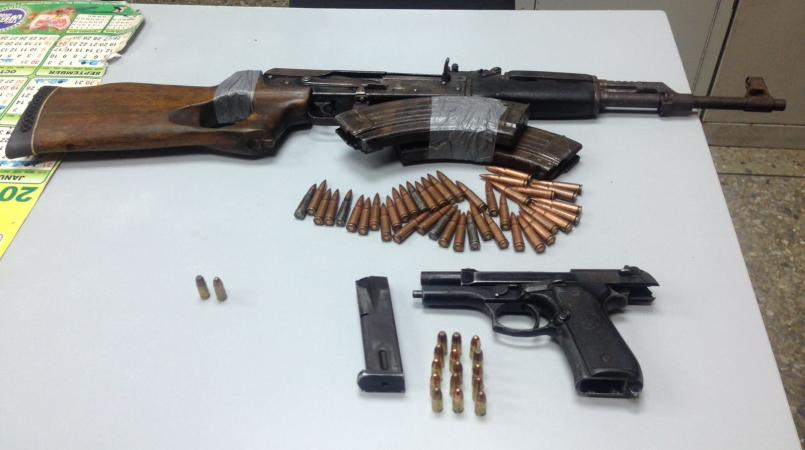 AK-47 seized in Valencia