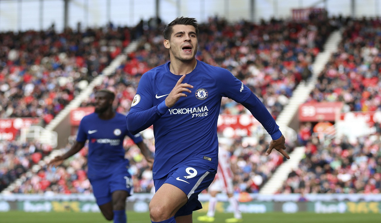 Morata struggled with Chelsea this year.