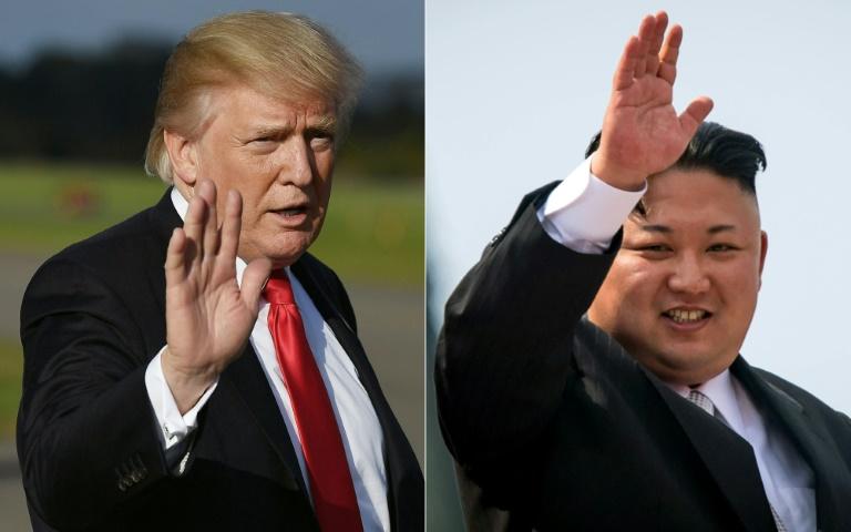Lundi, Donald Trump avait estimé que la Zone démilitarisée à la frontière entre les deux Corées pourrait être un lieu fort pour son sommet à venir avec Kim Jong Un, mentionnant aussi Singapour parmi les possibilités. (crédit photo : AFP)