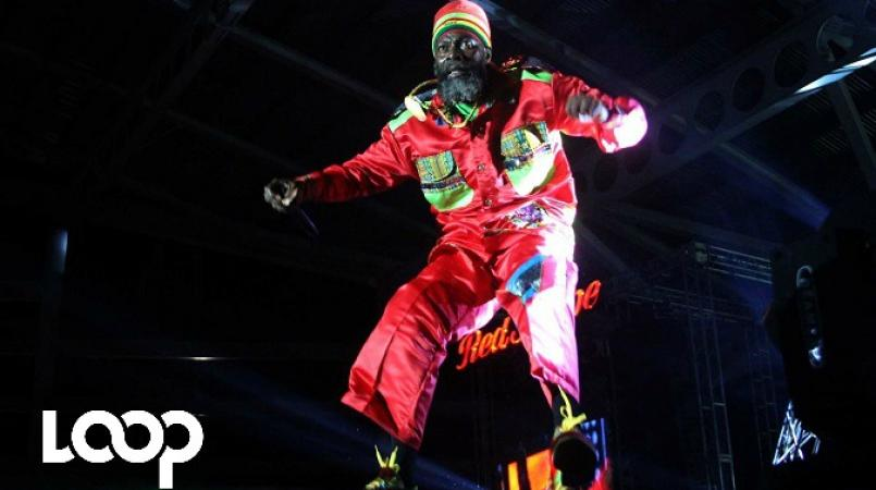 File photo of Capleton performing on stage.