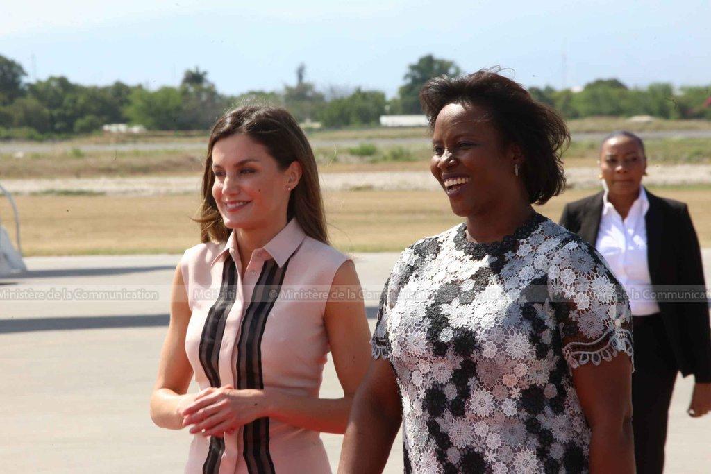 Résultats de recherche d'images pour «Fin de la visite de la d'Espagne en Haït»