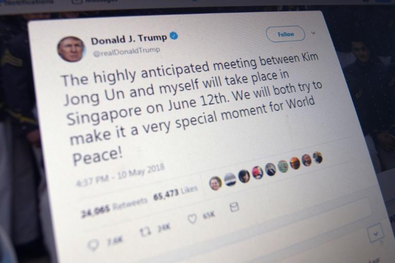 Les personnes bloquées par Donald Trump peuvent toujours écrire des tweets s'adressant au président mais celui-ci ne les verra pas. (crédit photo : AFP)