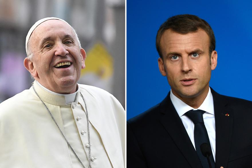 """Le président de la Conférence des évêques de France, Mgr Georges Pontier, avait confirmé en mars qu'une visite du pape François en France était """"envisagée"""" mais qu'il fallait encore trouver une place dans son calendrier. (crédit photo : AFP)"""