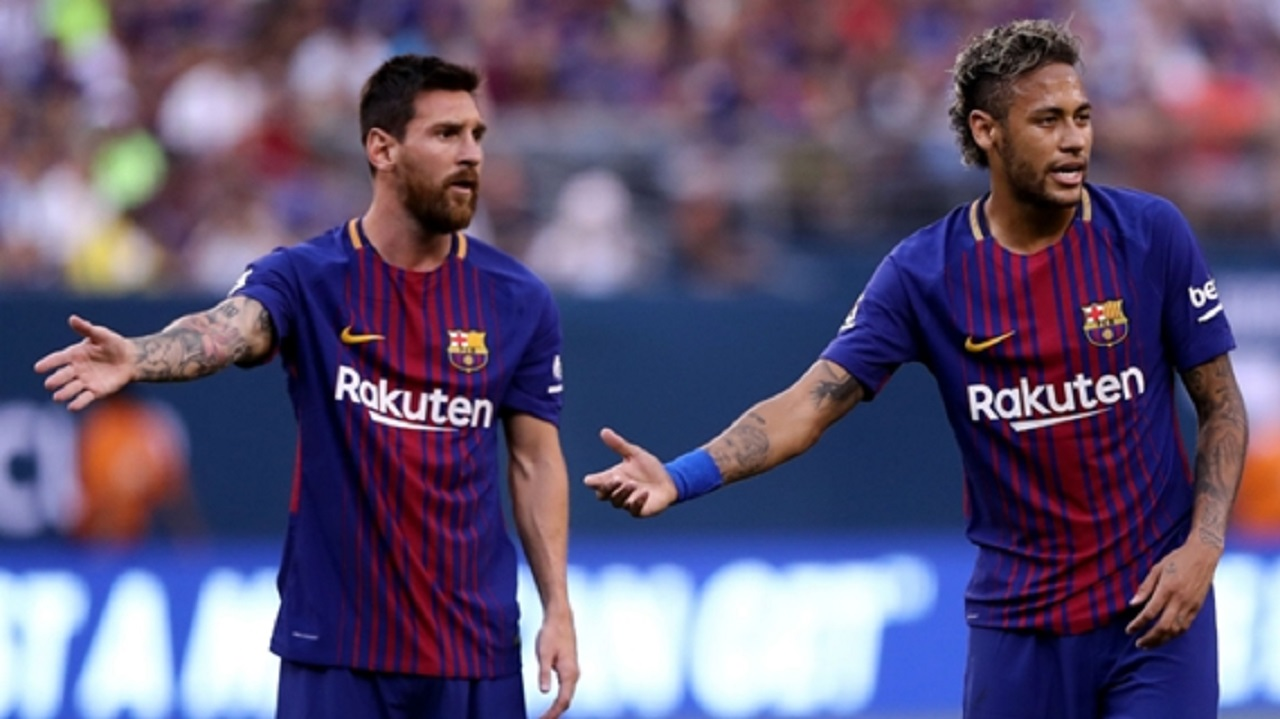 Messi: Neymar joining Real Madrid would be a bad blow for Barca