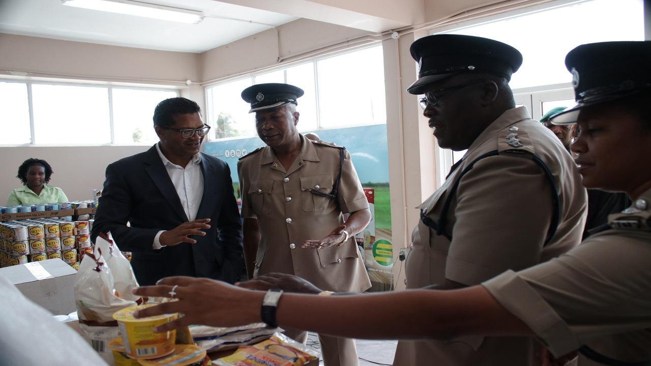 Seprod said it applauds the efforts of the constabulary to prompt this type of community engagement and their endeavor to provide relief and camaraderie to the impacted citizens and police personnel.