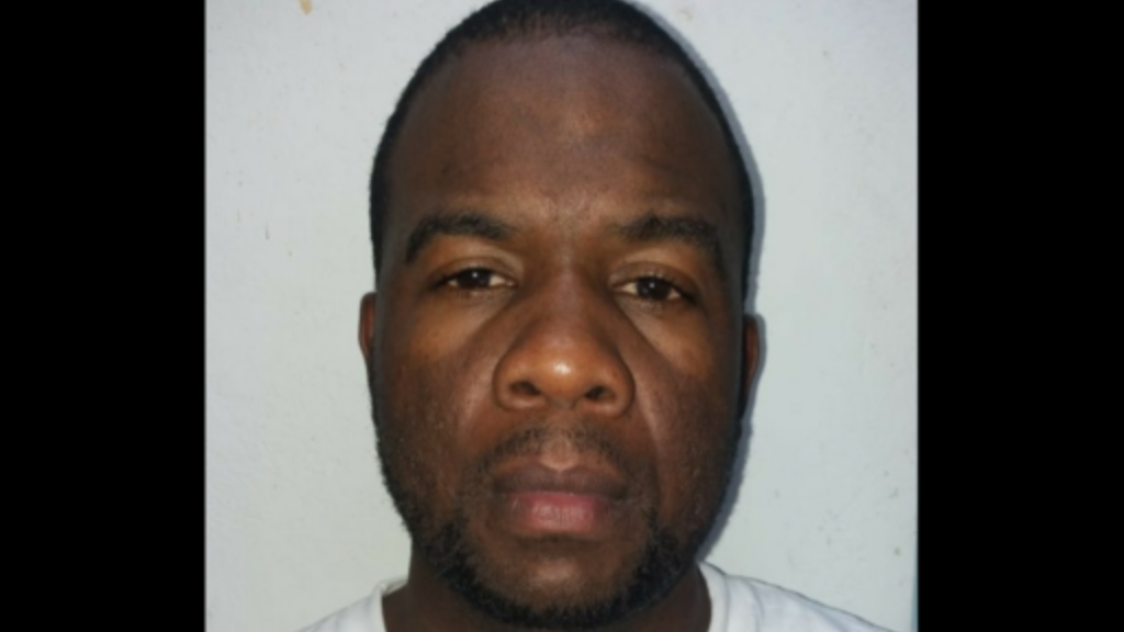 Rio Claro man Kevin Allen is charged with trafficking 2.4 kg in marijuana.