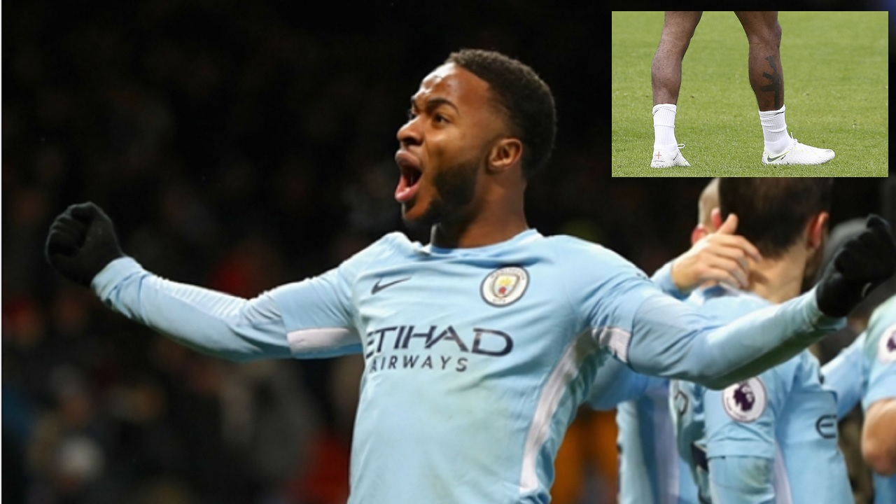 The Jamaica-born forward, who will represent England at the World Cup, came under heavy fire earlier this week after he posted a photo of himself during training, sporting a new tattoo of an M16 assault rifle on his right calf.