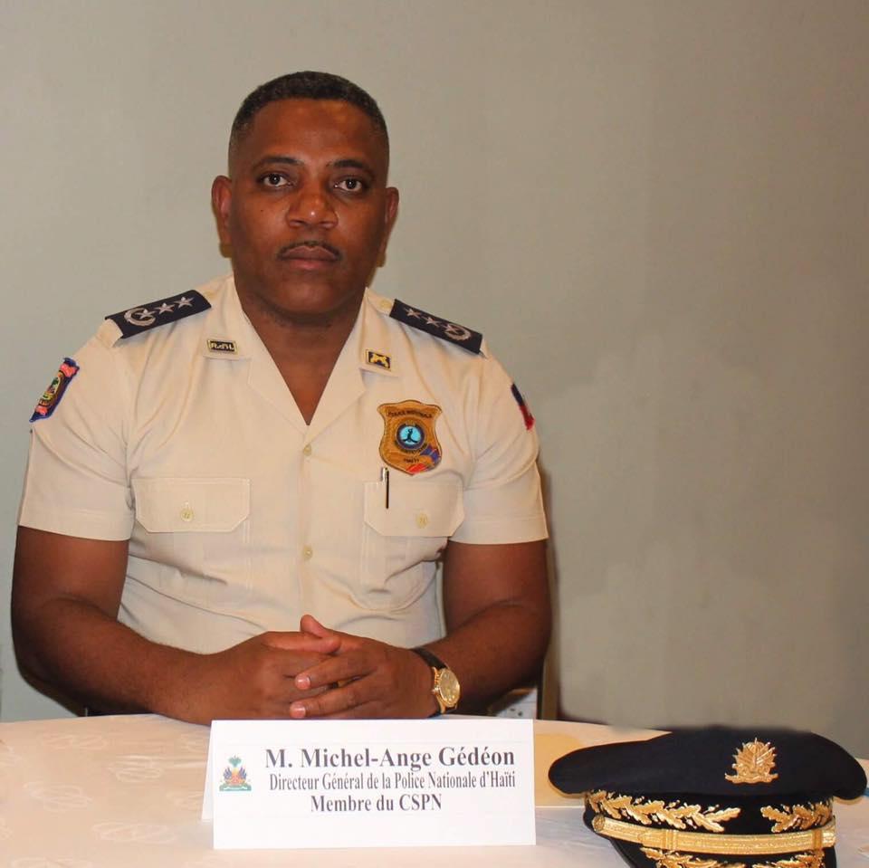 Le Directeur général de la Police nationale d'Haiti (PNH) / FB