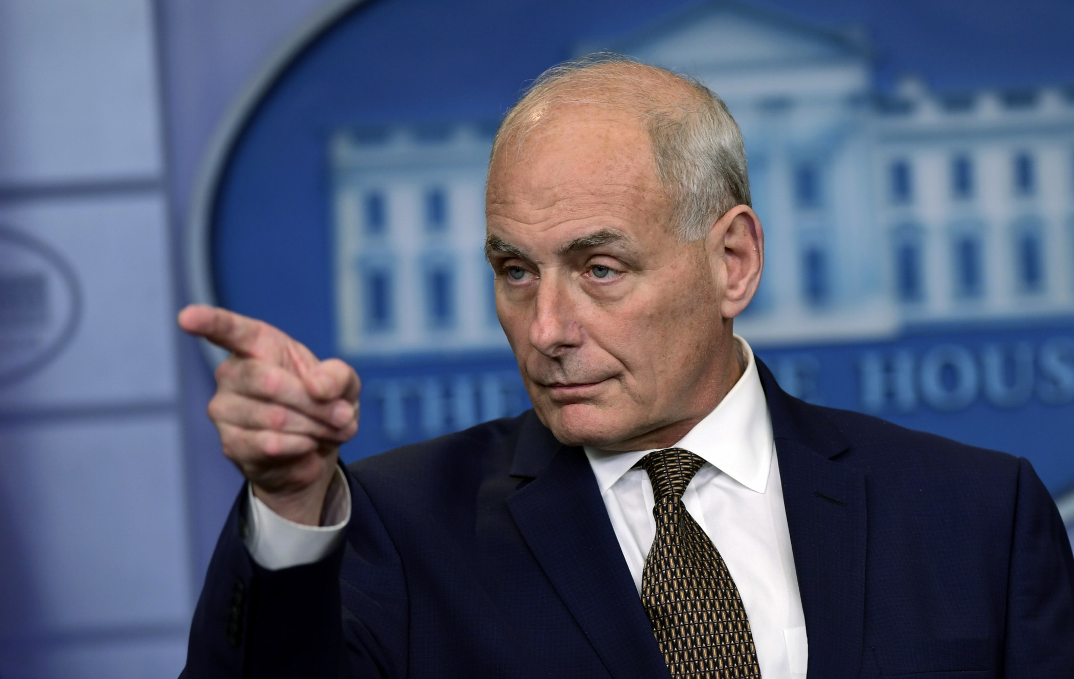 John Kelly, chef de cabinet de la Maison-Blanche. Photo: AP