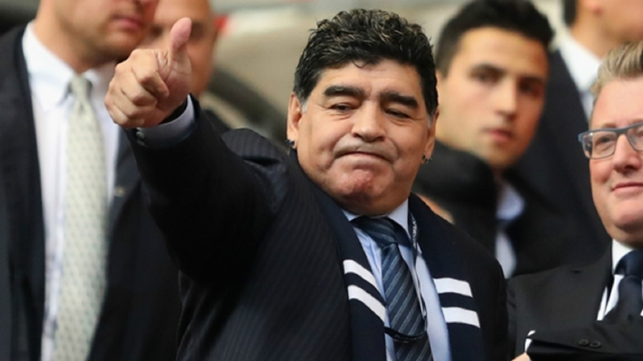 Diego Maradona named chairman of Belarusian club Dinamo Brest