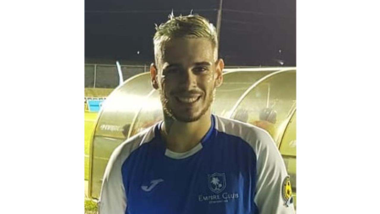 Empire's Brazilian sensation Daniel Calvi, scored one of his team's two goals versus Brittons Hill.