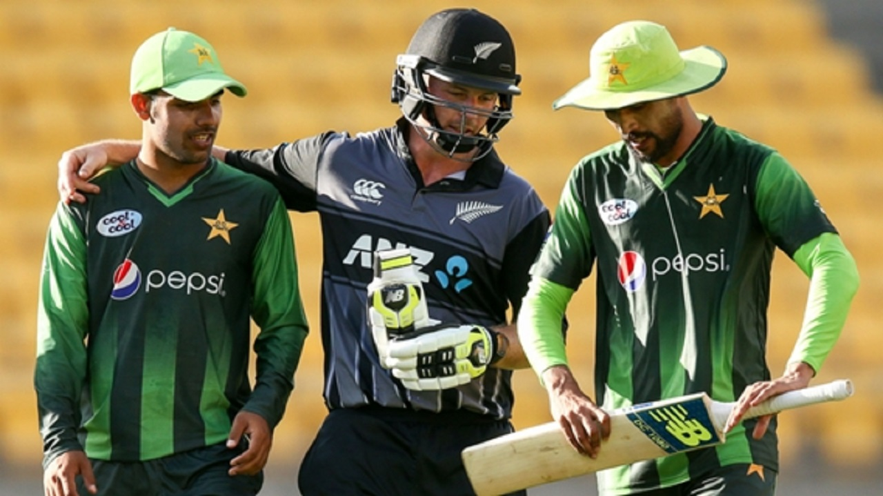 Pakistan face New Zealand in a one-day international series.