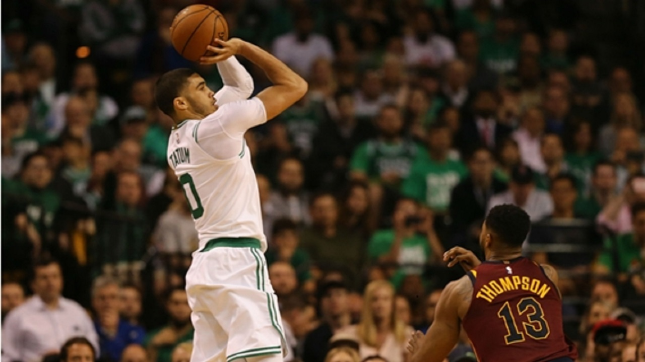 Cavs go down 0-2 in Boston despite LeBron triple-double
