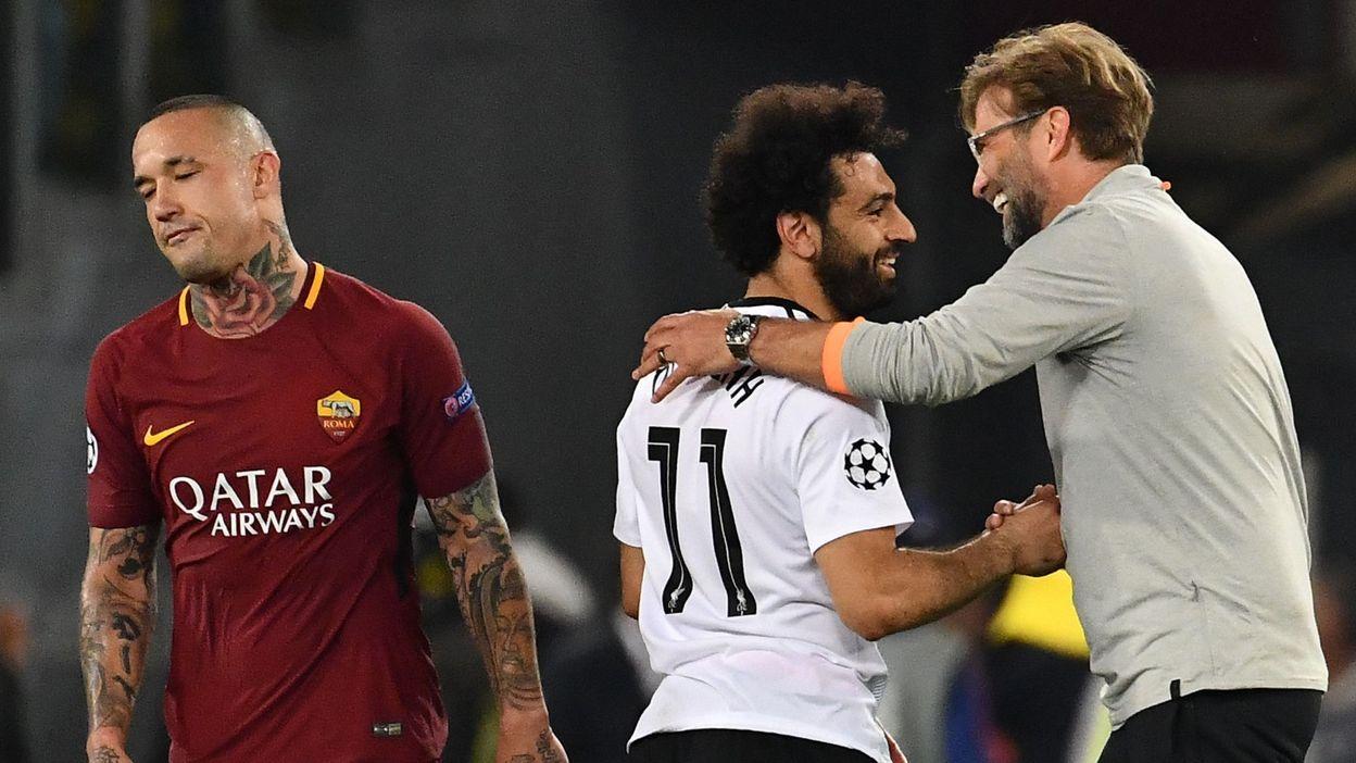 L'UEFA a annoncé lundi l'ouverture d'une procédure disciplinaire à l'encontre à la fois de Liverpool et de l'AS Rome. (crédit photo ; ALBERTO PIZZOLI / AFP)