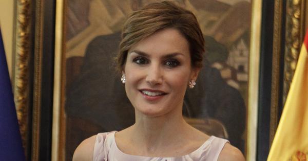 La reine d'Espagne,  Letizia Ortiz. Photo: America Economica