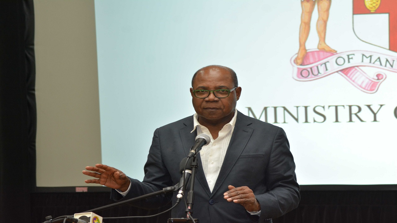 Tourism Minister Edmund Bartlett