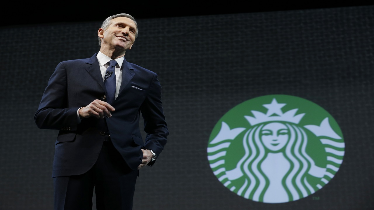 Howard Schultz oversaw the transformation of Starbucks into a global chain with more than 28,000 locations.