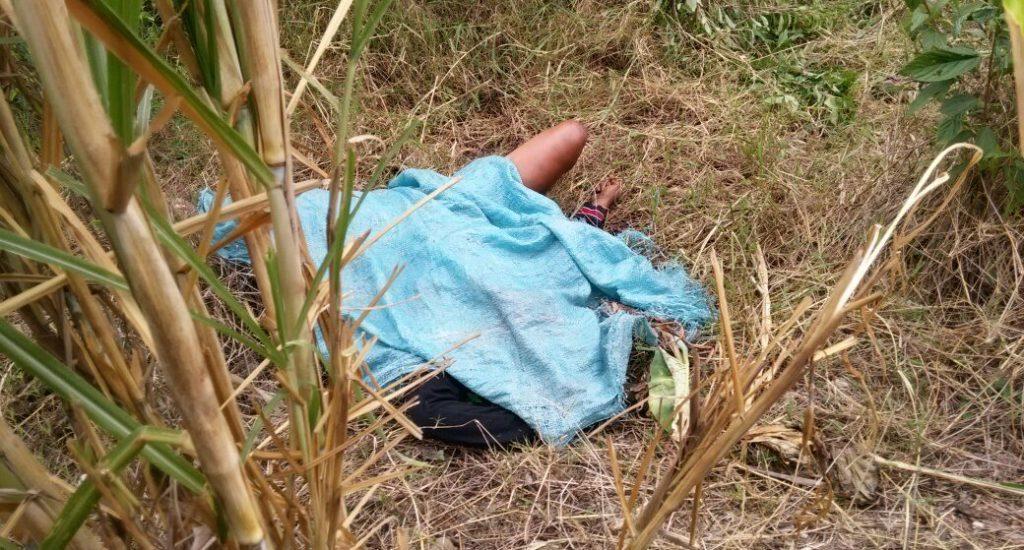 Une Haïtienne violée avant d'être assassinée en République Dominicaine. Photo: El Nuevo Diario