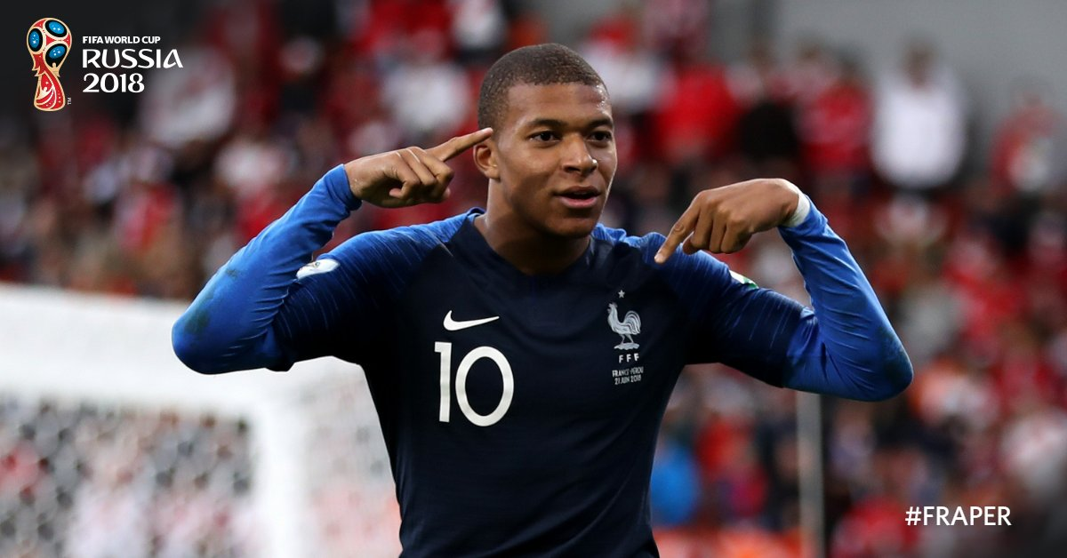 Kliyan Mbappé, 19 ans / Photo : FIFA World Cup